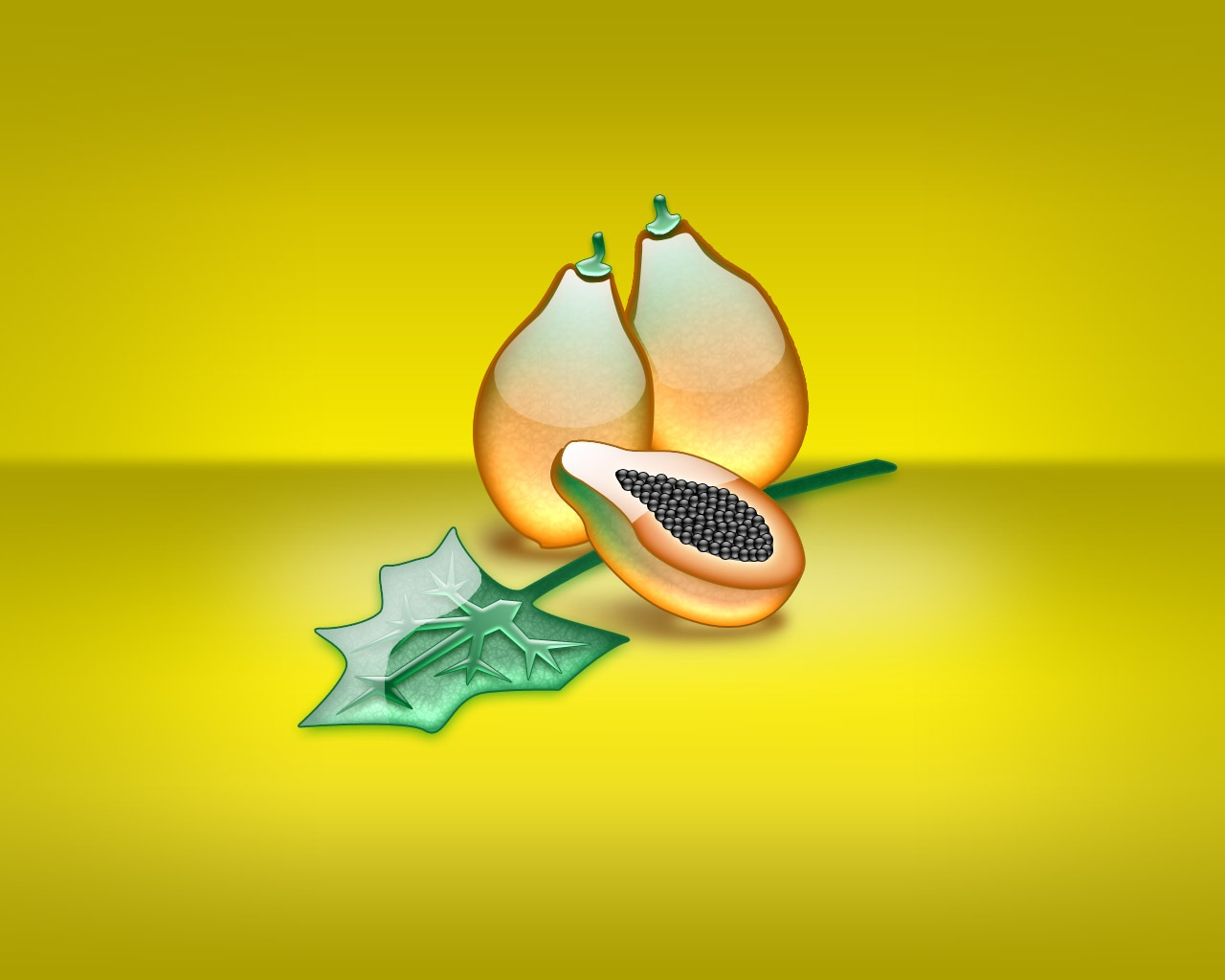 aqua papaya wallpaper abstract - photo #1