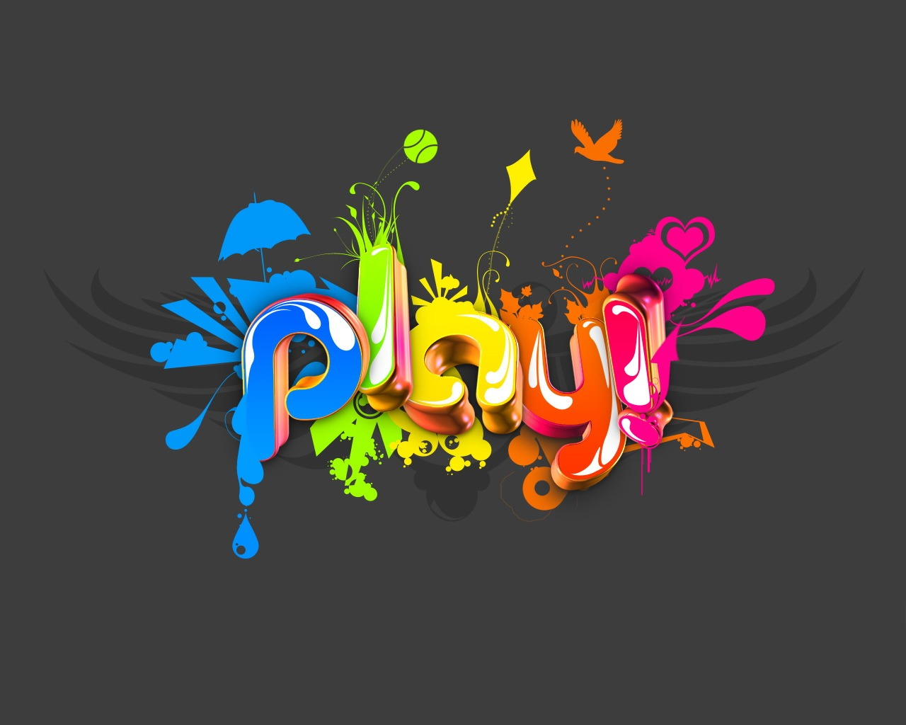 Play Wallpaper Abstract 3D Wallpapers in jpg format for ...