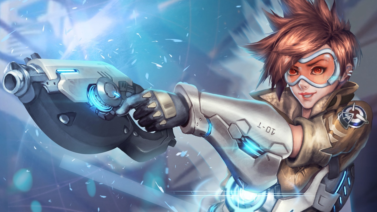 Tracer Overwatch Wallpapers in jpg format for free download