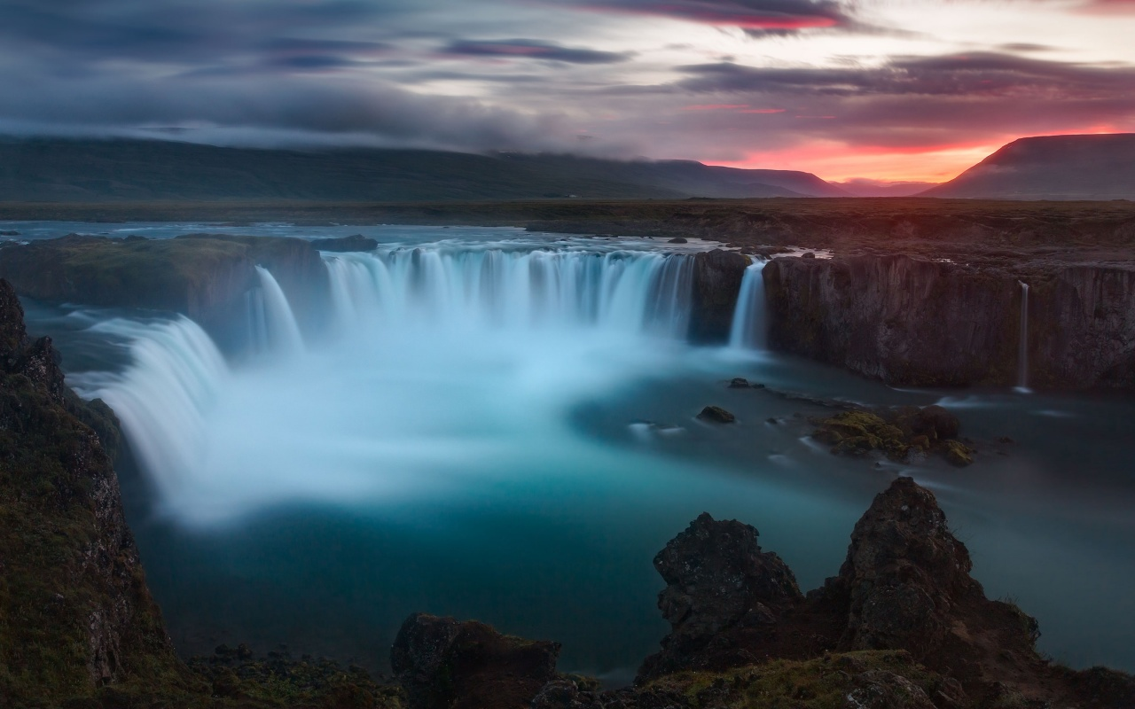 wallpaper godafoss iceland free -#main
