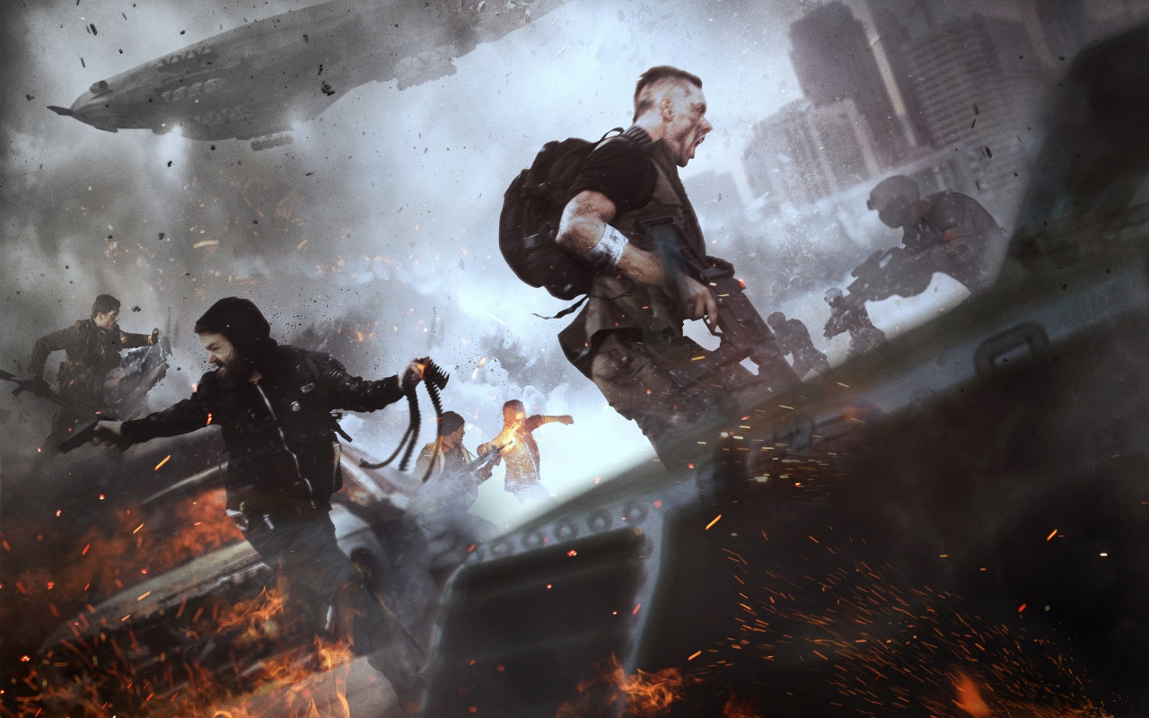 Homefront the revolution 2016 game wallpapers in jpg for Homefront wallpaper