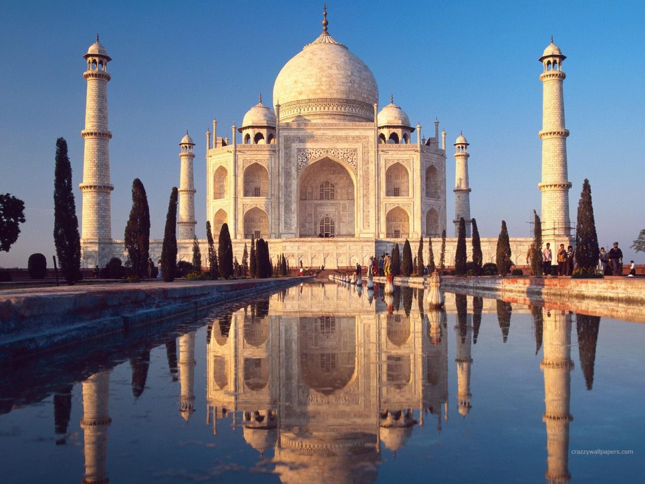 Taj Mahal Agra India HD Wallpapers In Jpg Format For Free
