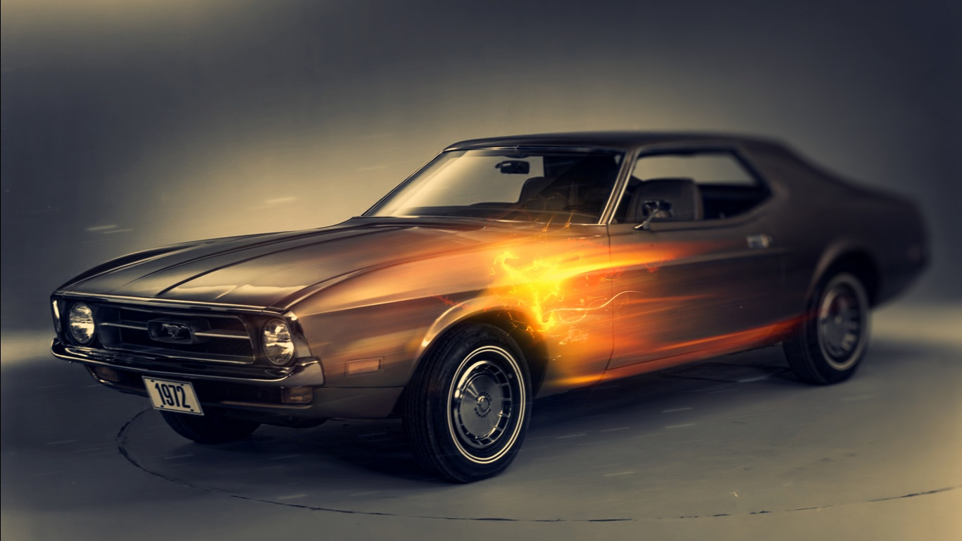 1972 Ford Mustang Wallpapers in jpg format for free download