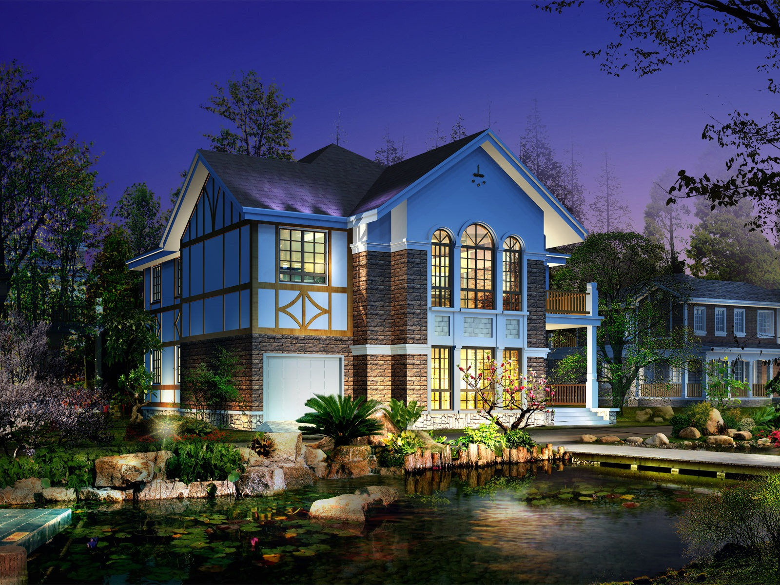 3D House Wallpaper Architecture Other Wallpapers In Jpg