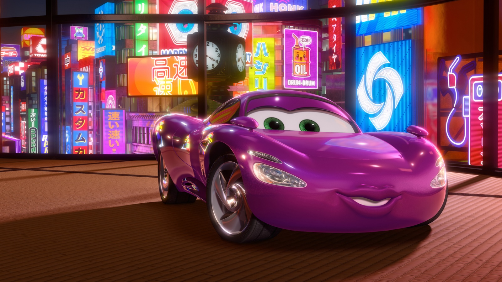 The Fast Car In The World >> Holley Shiftwell in Cars 2 Movie Wallpapers in jpg format for free download