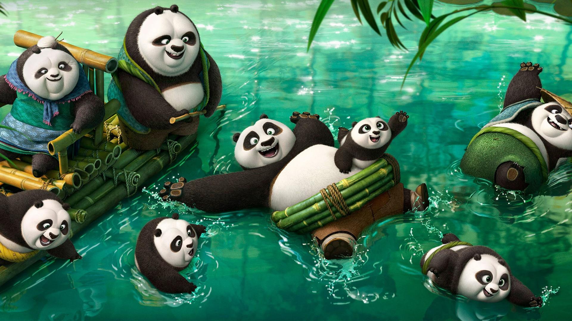 Kung fu panda 3 new pandas wallpapers in jpg format for - Kung fu panda wallpaper ...