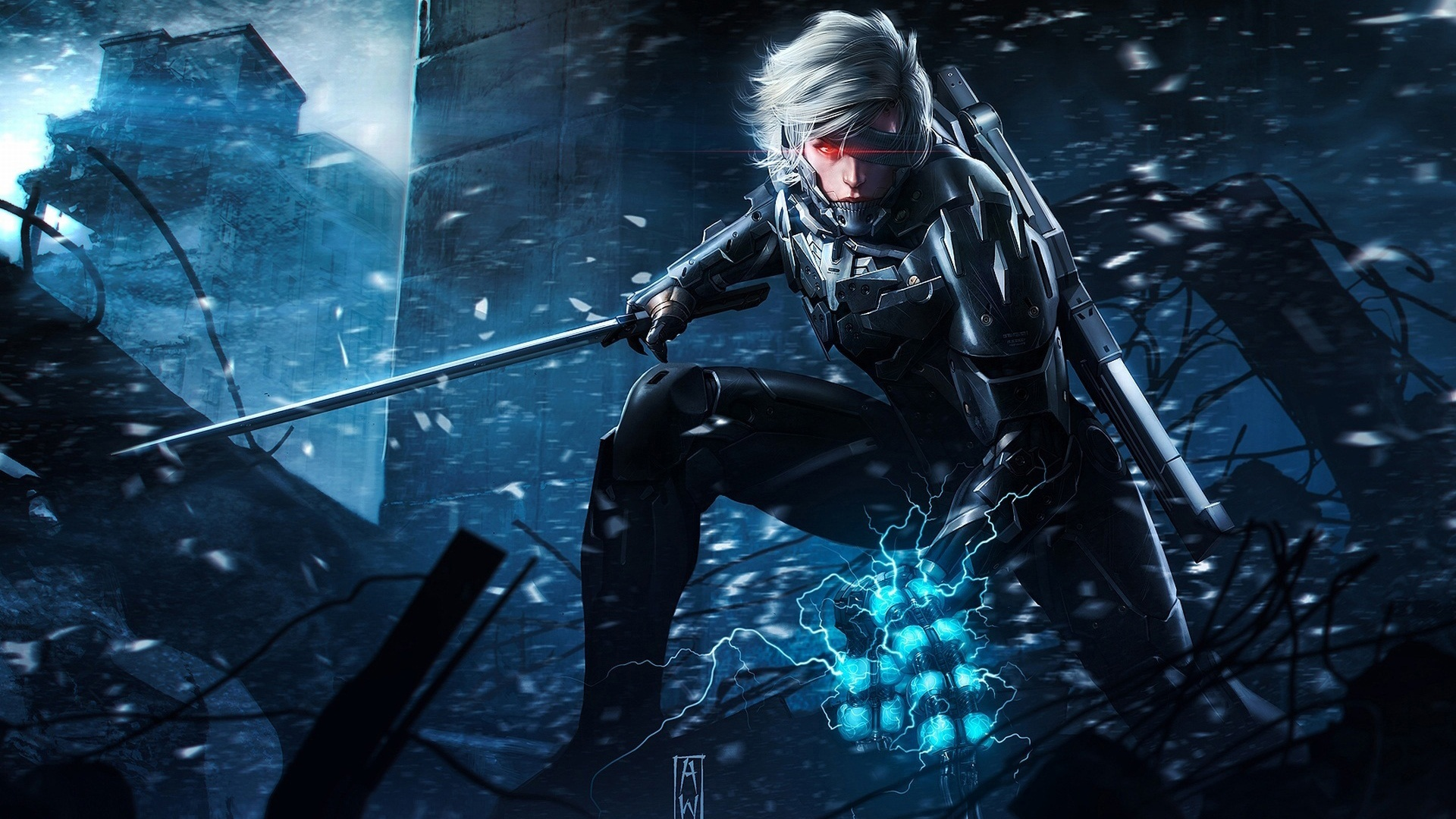 10 Latest Pc Gaming Wallpaper 1920x1080 Full Hd 1920 1080: Metal Gear Rising Revengeance Game Wallpapers In Jpg