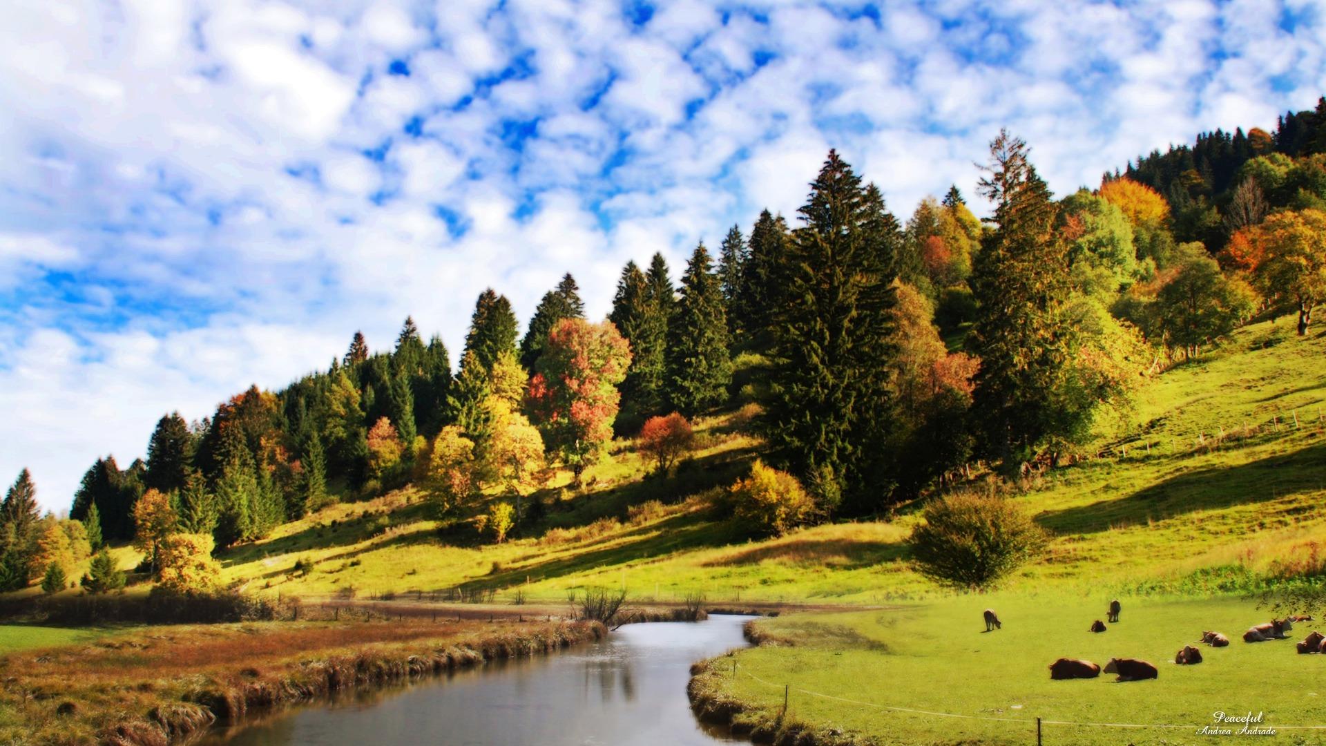Peaceful Desktop Backgrounds Free Download: Peaceful Wallpaper Landscape Nature Wallpapers In Jpg