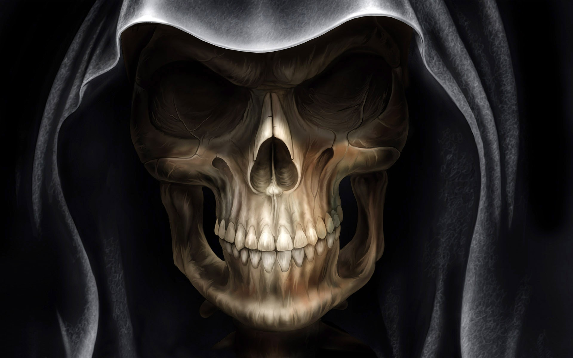 Demon Alien Devil Skull Wallpapers In Jpg Format For Free