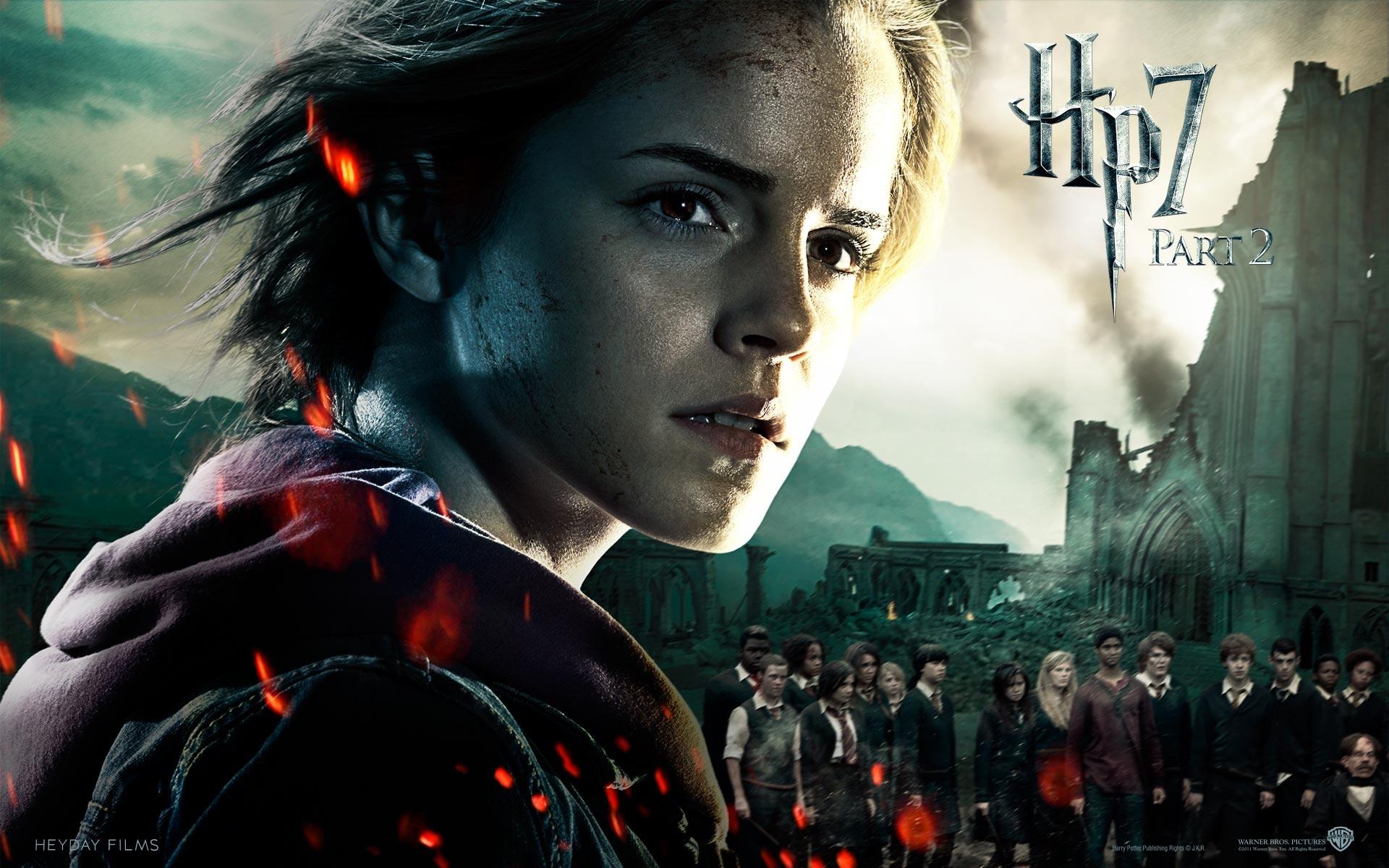 Emma Watson In HP7 Part 2 Wallpapers In Jpg Format For