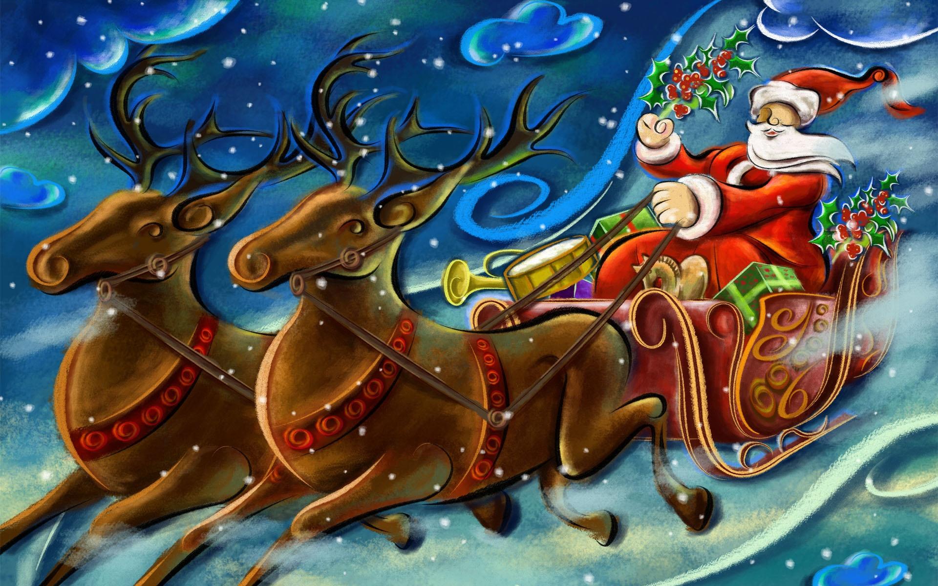craft work wallpaper free download: Santa Clause Creative Art Work Wallpapers In Jpg Format