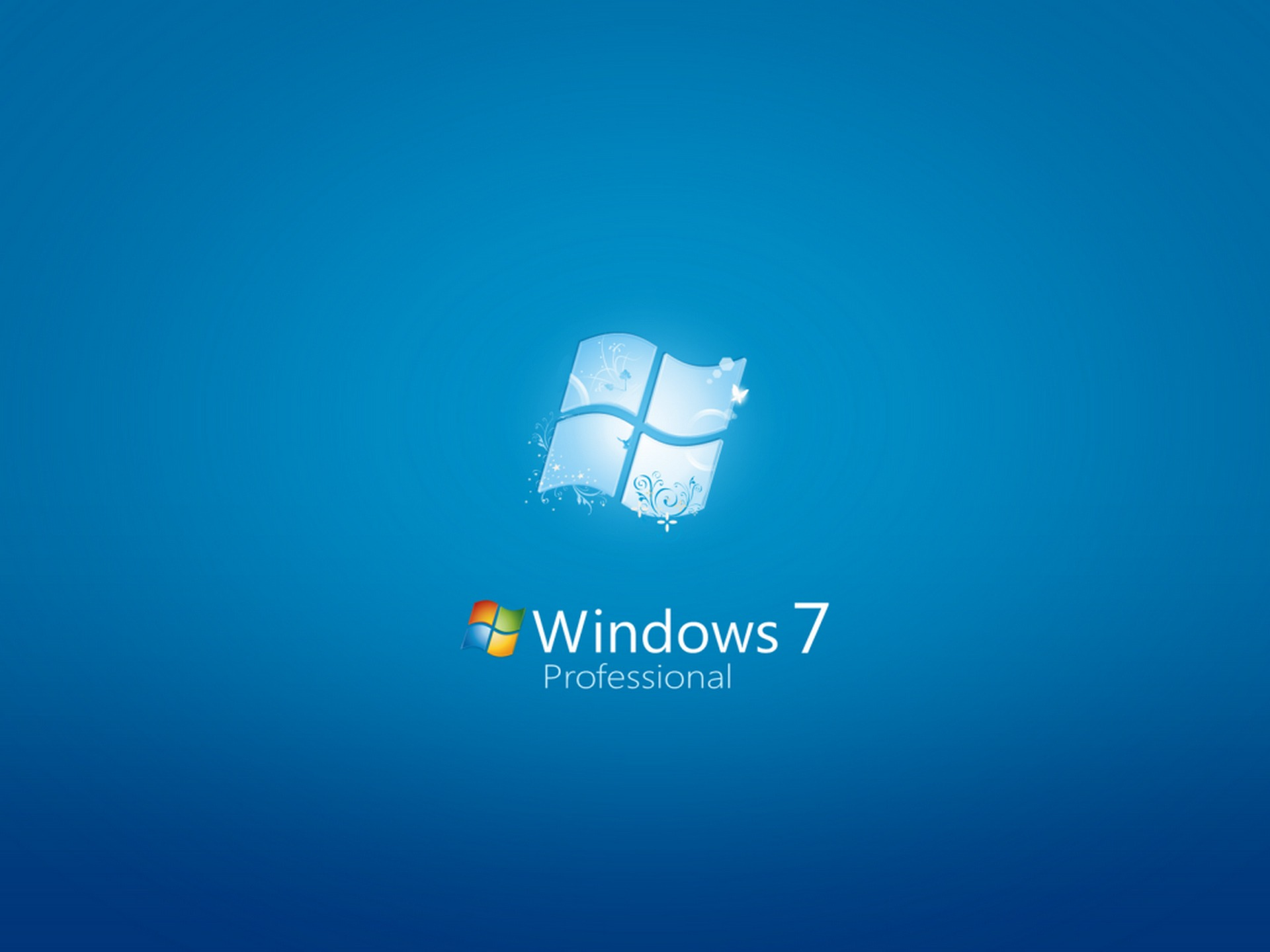 Windows 7 professional wallpaper windows seven computers for Window 7 professional