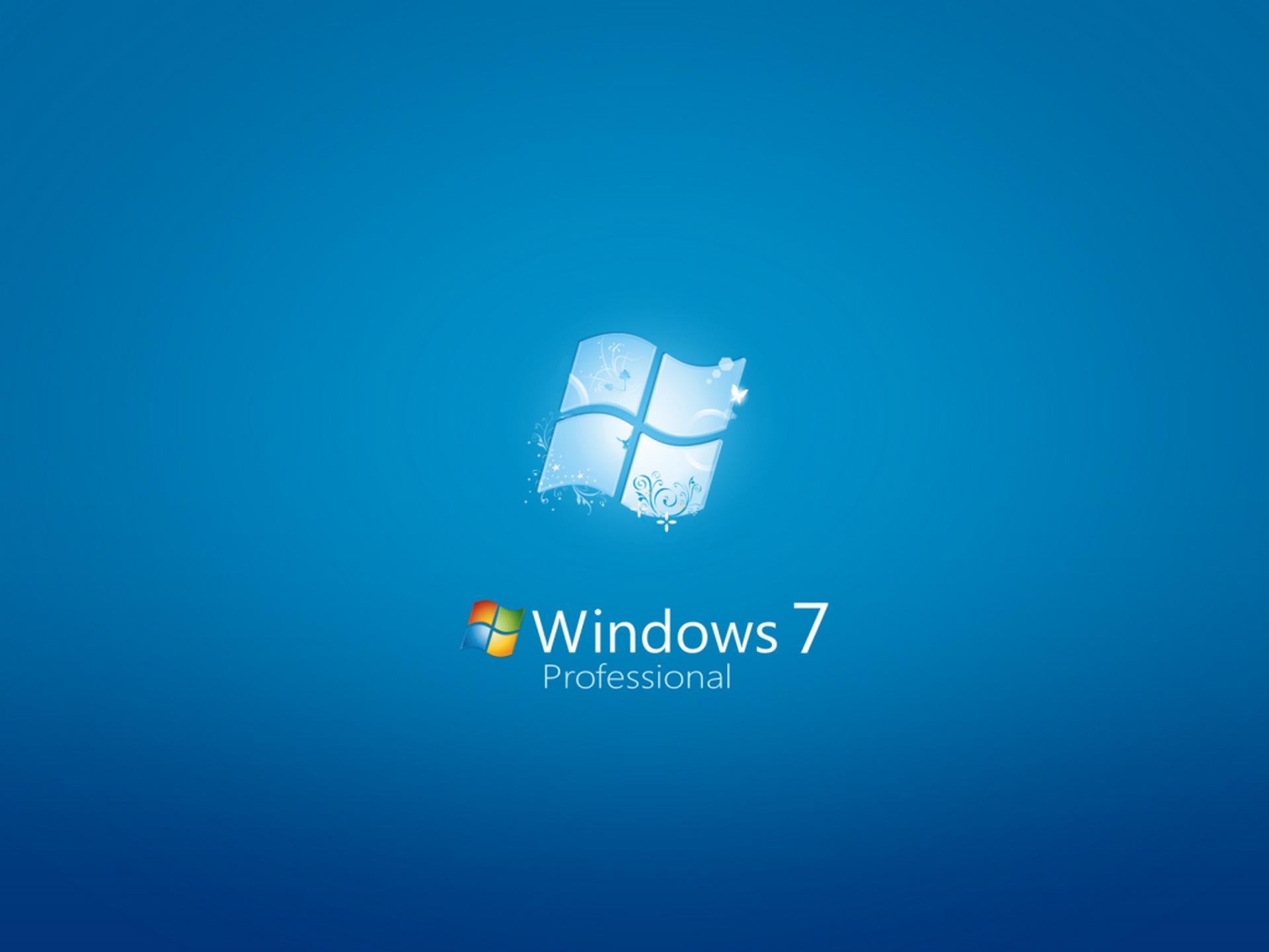 Windows 7 professional wallpaper windows seven computers for Window 7 professional